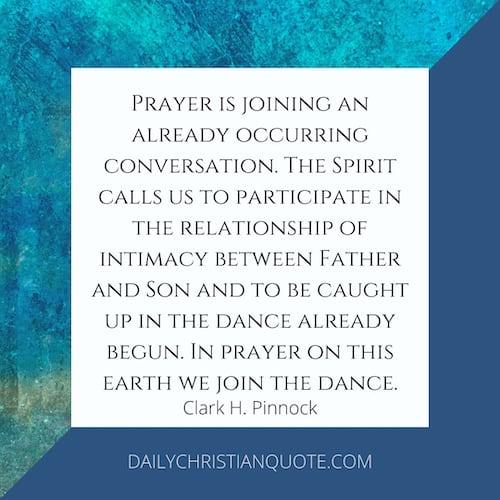 Pinnock Prayer Dance